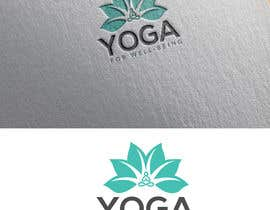 #63 para Yoga for well being Logo Design por weperfectionist