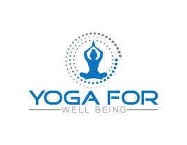 #43 for Yoga for well being Logo Design by taskienmizi