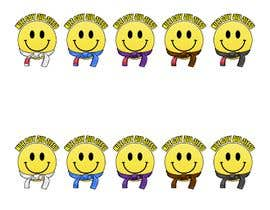 #4 for Emoji wearing Jiu-Jitsu Belt. by RafaelRenoldi
