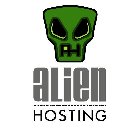 Bài tham dự cuộc thi #                                        71                                      cho                                         Logo Design for Alien Hosting