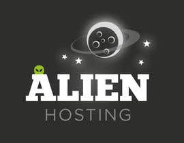 #166 para Logo Design for Alien Hosting por JoGraphicDesign