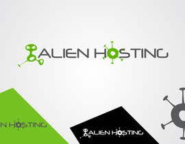 #118 for Logo Design for Alien Hosting by taganherbord