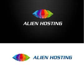 nº 29 pour Logo Design for Alien Hosting par trencadisart
