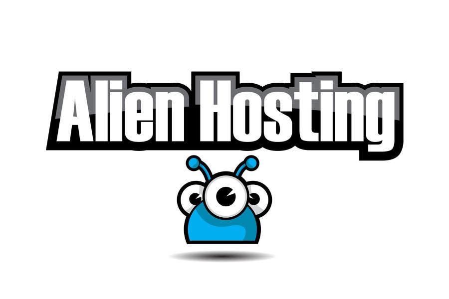 Bài tham dự cuộc thi #                                        165                                      cho                                         Logo Design for Alien Hosting