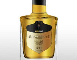 #33 for Label for an exclusive hazelnut liqueur by salmistaextremo