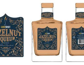 #28 for Label for an exclusive hazelnut liqueur by eling88