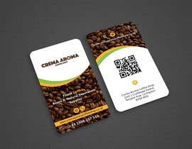 #159 for Business Card for Crema Aroma Coffee Shop by Shariquenaz