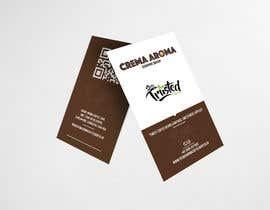 #187 for Business Card for Crema Aroma Coffee Shop by lubnakhan6969