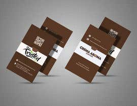 #190 for Business Card for Crema Aroma Coffee Shop by lubnakhan6969