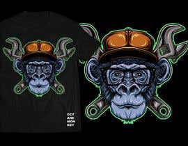 nº 45 pour Octane Monkey Car Enthusiast Design a T-Shirt Contest par Isodexxx