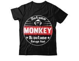 nº 24 pour Octane Monkey Car Enthusiast Design a T-Shirt Contest par bdsamiran