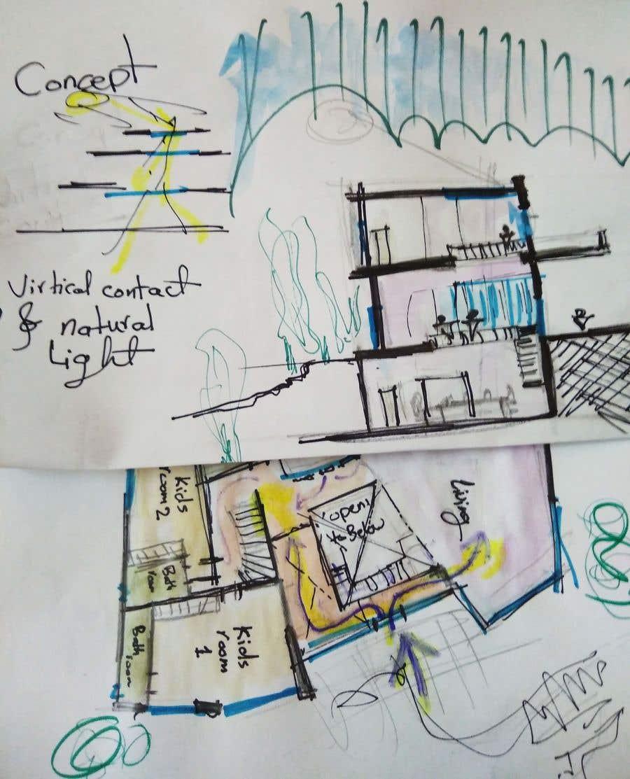 Inscrição nº 11 do Concurso para Brainstorming and conceptual ideas for remodeling of house