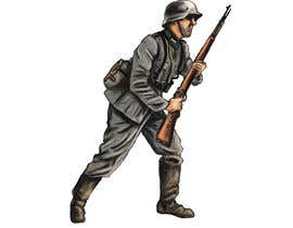 nº 21 pour Draw Soldiers WW2 for a board game counter par petedashford