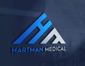 "#119 para Design logo for Hartman Medical using only the letters ""H"" and ""M"" de eusof2018"