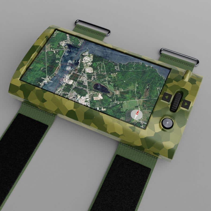 Inscrição nº 16 do Concurso para Futuristic Wrist Mounted Computer Wearable for Action Sports