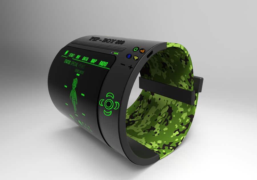 Inscrição nº 28 do Concurso para Futuristic Wrist Mounted Computer Wearable for Action Sports