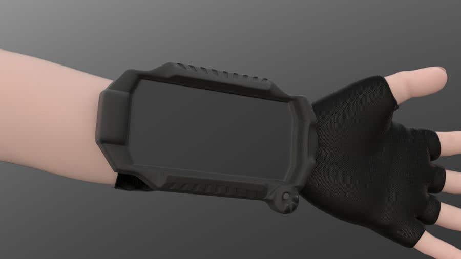 Inscrição nº 20 do Concurso para Futuristic Wrist Mounted Computer Wearable for Action Sports