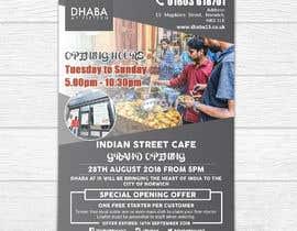 shemulpaul tarafından Design a Flyer for a Indian Street Cafe için no 24