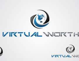 #148 para Logo Design for Virtual Worth por taganherbord