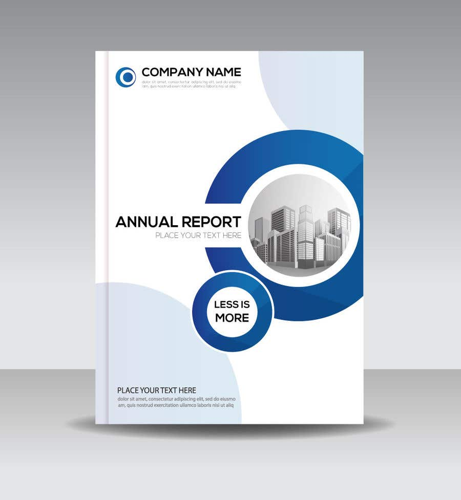 entry 7 by rabin52 for design a financial report cover and section