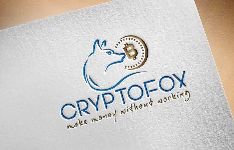 Contest Entry #48 for Bitte entwerfen sie ein modernes, ansprechendes Logo. Bitte orientieren Sie sich an den verschiedenen Entwürfen in der Anlage. Das Wort (CRYPTOFOX) und der Slogen (make money without working) sollten Bestandteil des Logos sein.