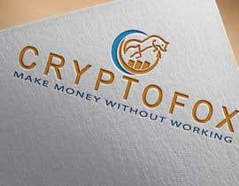 #51 for Bitte entwerfen sie ein modernes, ansprechendes Logo. Bitte orientieren Sie sich an den verschiedenen Entwürfen in der Anlage. Das Wort (CRYPTOFOX) und der Slogen (make money without working) sollten Bestandteil des Logos sein. by mehadi777