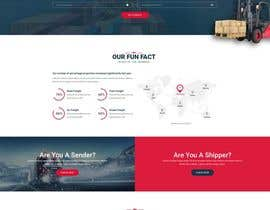 #10 для I need a mockup of a ground transportation website (4 pages and 1 logo) от webpuny