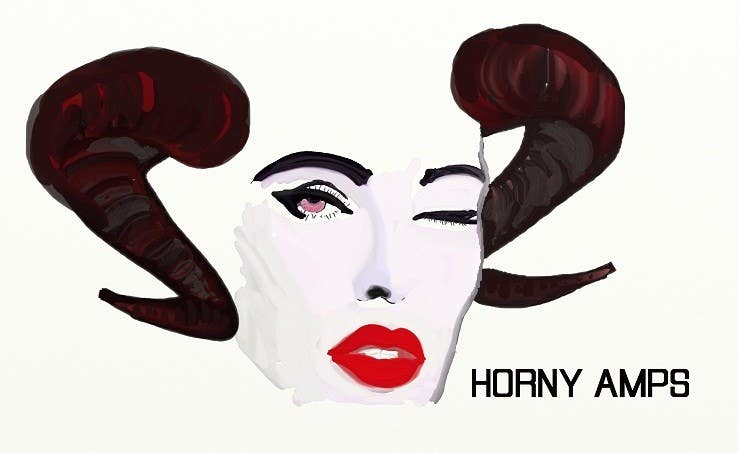 Proposition n°                                        82                                      du concours                                         Logo Design for Horny Amps