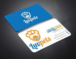 #98 para Create Business cards for Pet business de shaown7