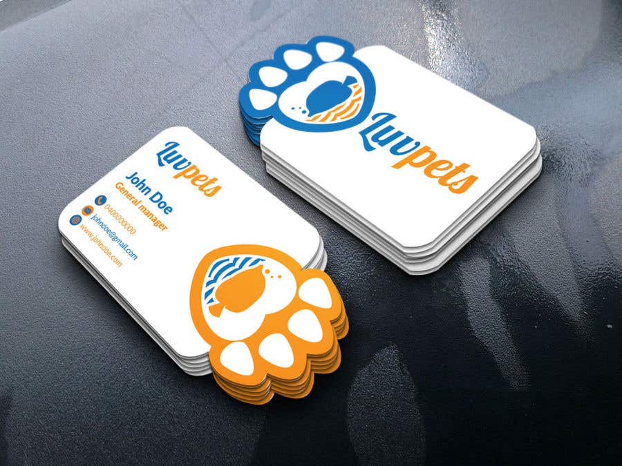 Konkurrenceindlæg #96 for Create Business cards for Pet business