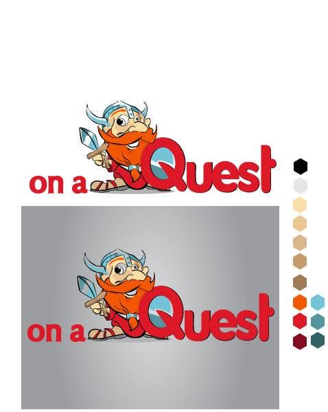 Kilpailutyö #98 kilpailussa Logo Design for On a Quest