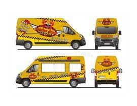 Nro 45 kilpailuun food truck sticker and logo design käyttäjältä artdjuna