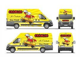 Nro 48 kilpailuun food truck sticker and logo design käyttäjältä qamarkaami