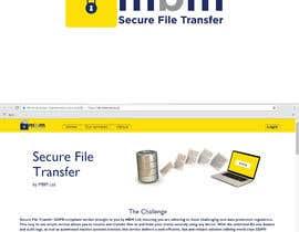 Nro 83 kilpailuun Logo of Secure File Transfer Service käyttäjältä mohammadArif200