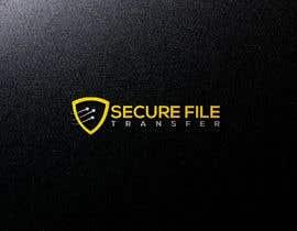 Nro 235 kilpailuun Logo of Secure File Transfer Service käyttäjältä Design4ink