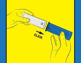 Číslo 8 pro uživatele Criar ilustração para modo de uso de produto com Aplicador od uživatele surdesign