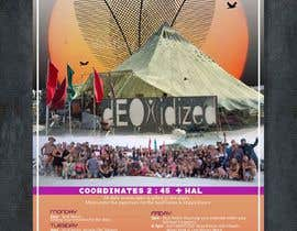 #300 for Outdoor Banner for Burning Man Festival by d3stin