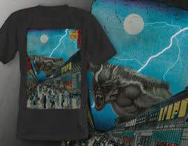 #10 для Monster attack on city T shirt design от robiulhossi