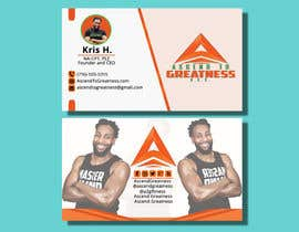 #157 for Design Personal Trainer Business Cards by Monowar8731