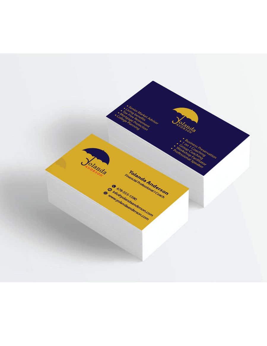 Penyertaan Peraduan #123 untuk Design Insurance Salesman Business Cards