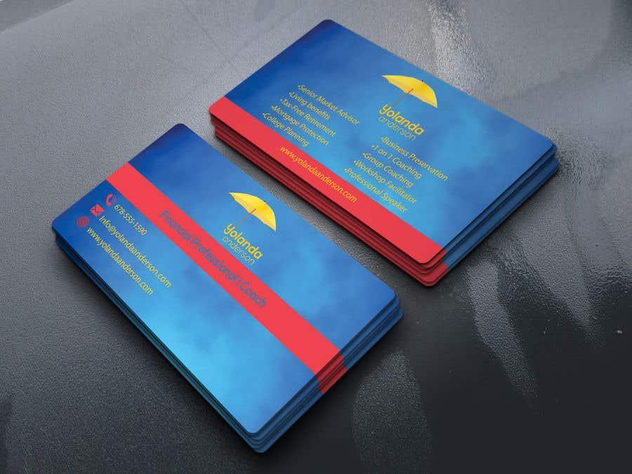 Penyertaan Peraduan #103 untuk Design Insurance Salesman Business Cards