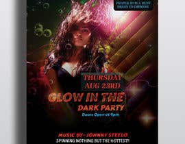 #21 pentru Design a glow in the dark party club flyer de către hridoyghf