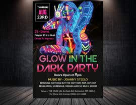 #18 pentru Design a glow in the dark party club flyer de către daliaalmansoori