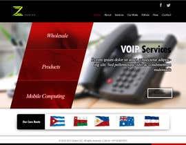 #6 for Home page design af sumangxsols