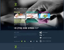 #4 for Home page design af ArtNicoleRichard