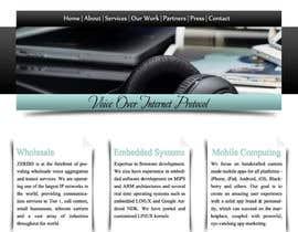 #8 for Home page design af Udovas