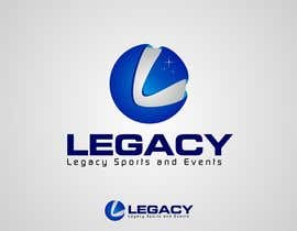 #144 para Logo Design for Legacy Sports & Events por Dewieq