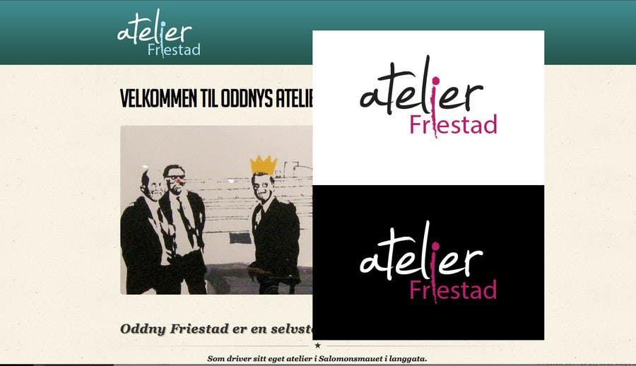 Penyertaan Peraduan #31 untuk Logo Design for atelier Friestad