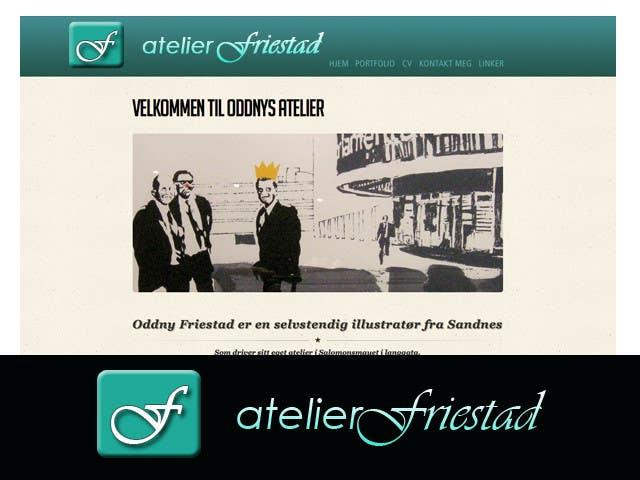 Proposition n°12 du concours Logo Design for atelier Friestad