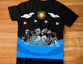 Nro 4 kilpailuun Make illustration for back of t-shirt käyttäjältä nagimuddin01981